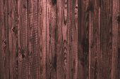 Old Shabby Wooden Pink Fence, Wood Surface. Dilapidated Pink Wooden Boards, Grunge Wood Pattern Text poster