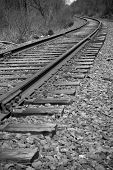 Railroad Track Perspective