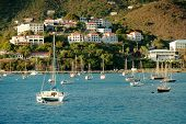 stock photo of u-boat  - Yacht club in Saint Thomas - JPG