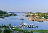 KRISTIANSAND, NORWAY - JULY 01. Norwegian archipelago on July 01, 2009 in Kristiansand, Norway.