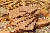 picture of hardtack  - cereal crackers - JPG