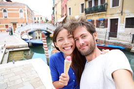picture of gelato  - Couple in Venice - JPG