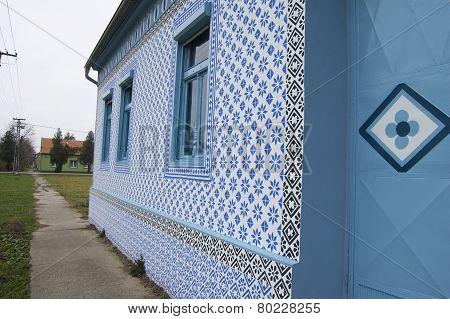Old Village House Plastered Tiles