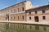 stock photo of ferrara  - Comacchio  - JPG