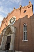 picture of vicenza  - The church of Santa Corona a medieval church located in Vicenza Italy - JPG