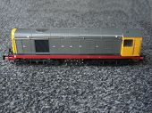 picture of locomotive  - Model locomotive diesel train from a model railway collection - JPG