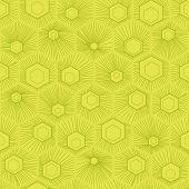 foto of hexagon pattern  - Vector hexagon background - JPG