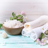 pic of salt-bowl  - Spa or wellness setting - JPG