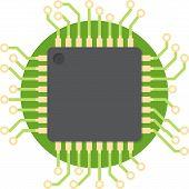 foto of cpu  - CPU  - JPG