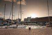 picture of marina  - Yachts in Marina Bay in Rimini - JPG