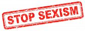 picture of stereotype  - stop sexism no discrimination for women or men - JPG