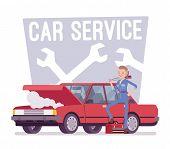 motor poster