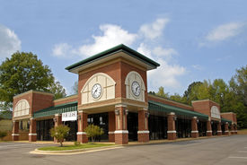 foto of commercial building  - Newly constructed commercial space available for lease - JPG