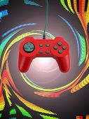 Game Controller W Clipping Path poster