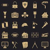 Concern Icons Set. Simple Set Of 25 Concern Icons For Web For Any Design poster
