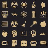 Discoveries Icons Set. Simple Set Of 25 Discoveries Icons For Web For Any Design poster
