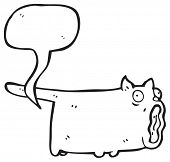 foto of farting  - farting cat cartoon - JPG