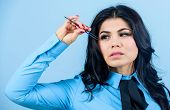Eyelash Removal Procedure. Beautician. Permanent Makeup. Eyelash Extension Procedure. Eyebrow Correc poster