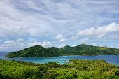 View Of Drawaqa And Naviti Islands Coastlines, Yasawa Islands, Fiji. This Archipelago Consists Of Ab poster