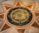 Star Seal Of Mn State Capitol Rotunda