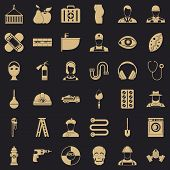Useful Profession Icons Set. Simple Style Of 36 Useful Profession Icons For Web For Any Design poster