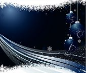 stock photo of christmas cards  - Abstract art design Christmas background vector illustration - JPG