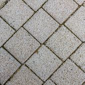 Paving Slabs In The Form Of Squares