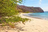 stock photo of papagayo  - The Golfo de Papagayo in Guanacaste Costa Rica - JPG