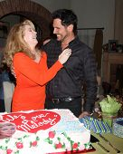 LOS ANGELES - MAR 4:  Melody Thomas Scott, Don Diamont at the Melody Thomas Scott Celebrates 35 Year