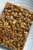 foto of groundnut  - Chikki is a traditional ready - JPG
