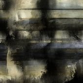 art abstract acrylic background in white, grey, blue and black colors
