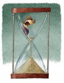 woman in hourglass