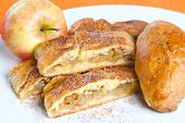 picture of patty-cake  - Homemade apple pie - JPG