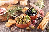 picture of antipasto  - assortment of antipasto - JPG