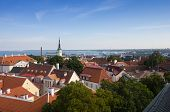 picture of olaf  - Top view on buildings of Old Town - JPG