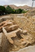 stock photo of jericho  - Old ruins and remains in Tell es - JPG