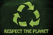 foto of respect  - green economy and ecology - JPG