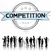 picture of competition  - Competition Competitive Challenge Contest Race Concept - JPG