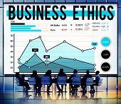 pic of honesty  - Business Ethnics Honesty Policies Progress Concept - JPG