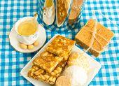 stock photo of brazilian food  - Delicious prepared for the famous Brazilian Festa Junina  - JPG