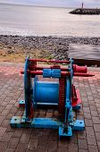 Постер, плакат: Old Vintage Metal Winch