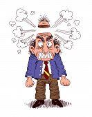 foto of nervous breakdown  - stressed - JPG