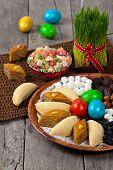 stock photo of zoroastrianism  - Novruz in Azerbaijan - JPG