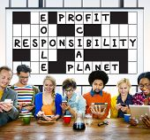 pic of ethics  - Social Responsibility Reliability Dependability Ethics Concept - JPG