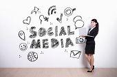 foto of  media  - Social Media concept  - JPG
