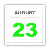 pic of august calendar  - August 23 - JPG