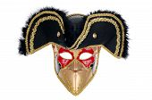 image of carnivale  - A beautiful carnivale mask Isolated on white background - JPG