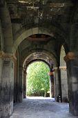 image of apostolic  - The arch of armenian apostolic church Armenia - JPG