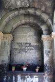 picture of apostolic  - The wall of armenian apostolic church Armenia - JPG