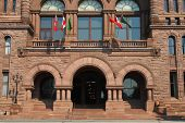 image of caucus  - toronto parlaiment building at queens park politics - JPG